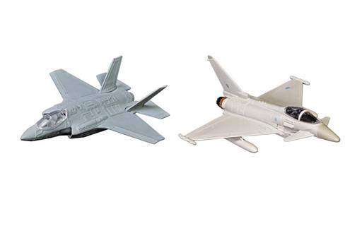Corgi CS90685 Defence of the Realm Collection RAF F-35 and Eurofighter Typhoon