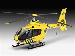 Revell 1/72 EC135 Nederlandse Trauma Helicopter Kit 04939Length 143mm  Number of Parts 65 Width 140mmGlue and paints are required