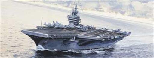 Italeri 1/720 USS America Kitty-Hawk Class Aircraft Carrier Kit 5521Model Length 450mm.Glue and paints are required to assemble and complete the model (not included)