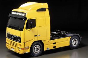 Tamiya 1/14 Volvo FH12 Globetrotter RC Truck Kit 56312Extra products , Glue and paints are required.