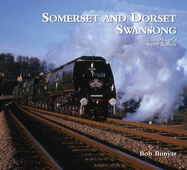 Wild Swan Somerset and Dorset Swansong - Last Days of a Steam Railway Somerset and Dorset Swansong - Last Days of a Steam Railway by Bob Bunyar and Wild Swan PublishingThis book focuses on the last weeks of normal services over the Somerset and Dorset Railway from Bath to Bournemouth, concluded by the final weekend in early March 1966.Produced in a portfolio format to properly present the photographs, many of which have not been published before, the illustrations are accompanied by a description of the the line and events during the final weekend. Featuring the S&Ds mix of LMS, Southern and BR steam ranging from the smallest of tank engines to Bulleids' light pacifics and the mighty 9Fs, the S&D had stiff grades and open countryside, providing a wide choice of settings for the railway photographer.Even 50 years after closure the unique flavour and atmosphere of the Somerset & Dorset continues to attract enthusiasts, many of whom know the line only from the superb photographic record.