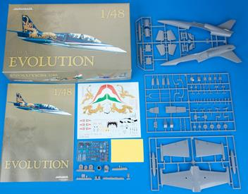 Limited Edition kit of jet aircraft L-39 Albatros in 1/48 scale.