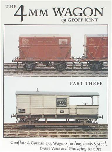 The third part of Geoff Kent's useful guide to building, upgrading and detailing 4mm scale wagons for OO, EM and P4/S4 gauges. This book covers flat wagons, including container wagons and containers, plus goods brake vans in over 150 pages. The final chapter covers finishing of your models with painting, loads and realistic weathering.This series is recommended for 4mm scale wagon builders, helping you build a distinctive and unique model from a plastic kit, then progressing to kit bashing and straightforward scratch building projects to model specific prototypes.