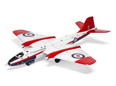 Airfix A10101B 1/48th English Electric Canberra 'Raspberry Ripple' Boscombe Down kitNumber of Parts 182  Length 416mm  Wingspan 406mm