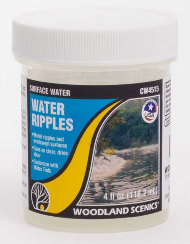 <P><B>Woodland Scenics CW4515 Surface Water - Water Ripples</B></P>