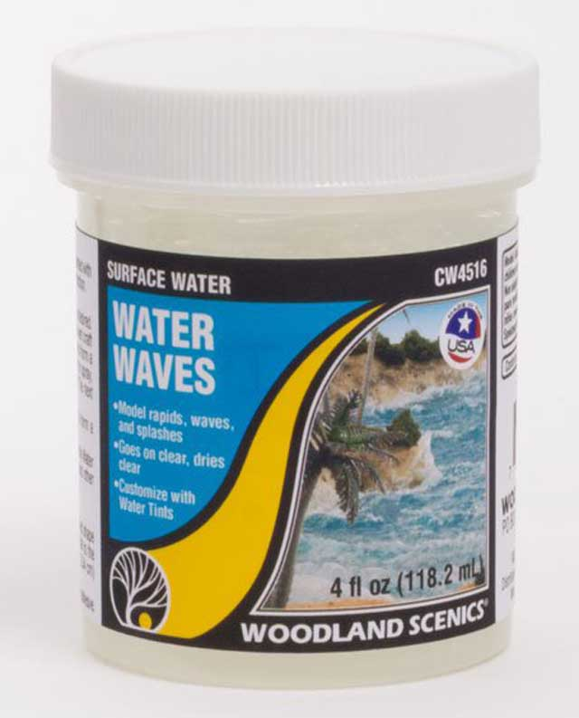 <P><B>Woodland Scenics CW4516 Surface Water - Water Waves</B></P>