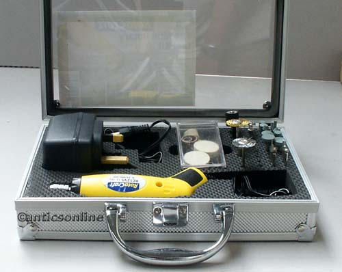 Shesto RotaCraft Mini Variable Speed Tool Kit  RC12VS
