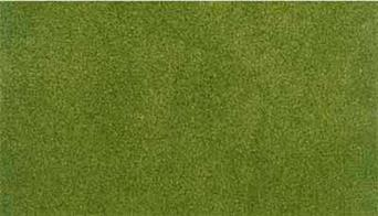Readygrass mouldable vinyl mat spring grass project sheet. This small sheet is designed for practice work, small dioramas or to cover small areas like hills in a larger lanscape. The fresh spring grass surface can be scraped away to add roadways and a range of project kits are available to provide landscaping materials.Project sheet 317 x 358mm 12½ x 14in