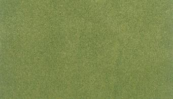 Woodland Scenics ReadyGrass Spring Grass Large Vinyl Mat RG5121The Readygrass mouldable vinyl mat is a huge 1.27 x 2.54m, 50 x 100in. That's a full 8 x 4ft. board with some to spare!The vinyl mat is mouldable, hills and other features can be permanently formed using a heat gun, plus the grass surface can be scraped away to form rivers, roadways and recessed bases for buildings. A range of project kits are available to provide additional landscaping materials.