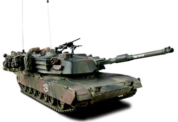 Unimax Forces of Valor US M1A1 Abrams Tank Bagdad 2003 1/32 80205