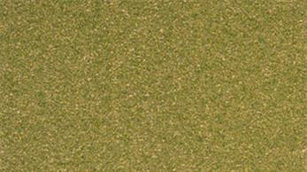 Woodland Scenics ReadyGrass Green Grass Large Vinyl Mat RG5122The Readygrass mouldable vinyl mat is a huge 1.27 x 2.54m, 50 x 100in. That's a full 8 x 4ft. board with some to spare!The vinyl mat is mouldable, hills and other features can be permanently formed using a heat gun, plus the grass surface can be scraped away to form rivers, roadways and recessed bases for buildings. A range of project kits are available to provide additional landscaping materials.