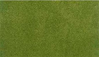 Woodland Scenics ReadyGrass Spring Grass Small Vinyl Mat RG5131Small Readygrass mouldable vinyl mat measuring 838 x 1270mm, 33 x 50inThe vinyl mat is mouldable, hills and other features can be permanently formed using a heat gun, plus the grass surface can be scraped away to form rivers, roadways and recessed bases for buildings. A range of project kits are available to provide additional landscaping materials.