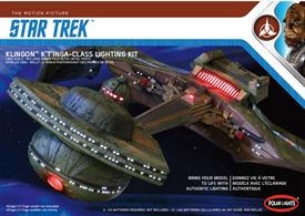 Due to the popularity of the  STAR TREK:TOS 1/350 Enterprise Lighting Kit, Polar Lights offers this exciting new lighting set to let modellers take their new Klingon K't'inga kits to the next level.