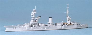 A superb model of the old USSR battleship Marat after refit
