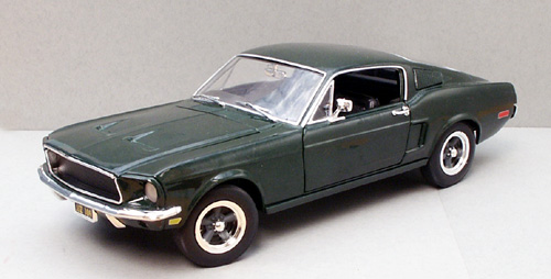 ertl bullitt mustang steve mcqueen 1 18 33118. Black Bedroom Furniture Sets. Home Design Ideas