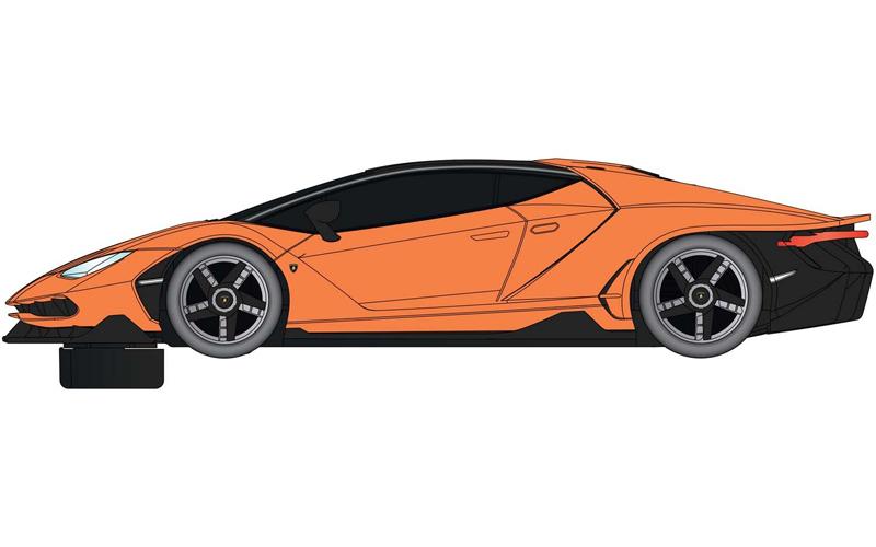 Scalextric Super Resistant Lamborghini Centenario Orange 1 32 C4066