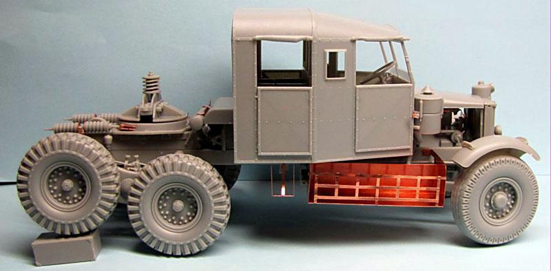 Thunder Model 1/35 Scammell Pioneer Tank Transporter 30 Ton Truck