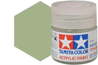 Tamiya XF-76 matt grey green, acrylic paint suitable for brush or spray painting.
