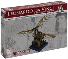 The ornithopter is a machine designed to fly by the flapping of its wings in imitation of birds.In 1485, Leonardo da Vinci began to study the flight of birds. He grasped that humans are too heavy, and not strong enough, to fly using wings simply attached to the arms. Therefore he sketched a device in which the aviator lies down on a plank and works two large, membranous wings using hand levers, foot pedals, and a system of pulleys.