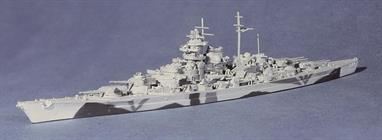 The last operational German battleship modelled in it's Norwegian camouflage scheme. Out to a big bomb!