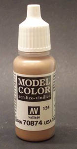 874 Model Color Matt USA Tan Earth Acrylic Paint 17ml