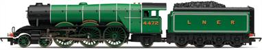 Hornby Railways R3086 OO Gauge LNER 4472 Flying Scotsman 4-6-2 LocomotiveHornby use the base tooling for the Gresley A3 class pacific to produce this budget priced model of the famous LNER locomotive 4472 Flying Scotsman.