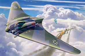 Revell 1/72 Horten Go229 04312Length 105mm Number of Parts 70 Wingspan 232mmGlue and paints are required