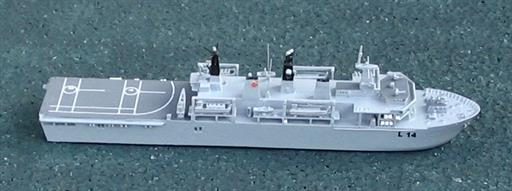 Albatros Alk304 HMS Albion Royal Navy LPD Assault Ship (2003) 1/1250