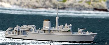 The Hunt class minesweepers are the largest of the modern minehunters in the Royal Navy.