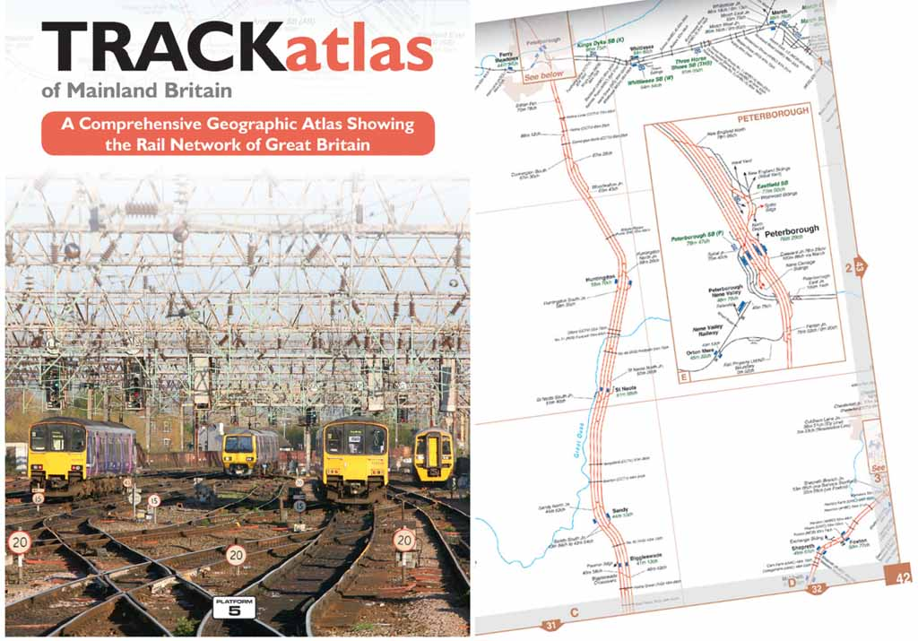 <b>Platform 5 Publishing British Railways TRACKatlas 3rd Edition</b><br>The new edition of Britain's most detailed railway atlas, showing the entire national railway network with track level detail.<p></p><br>