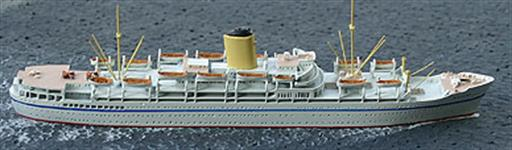 Albatros AL223 Nevasa Troopship 1956 Waterline Model 1/1250