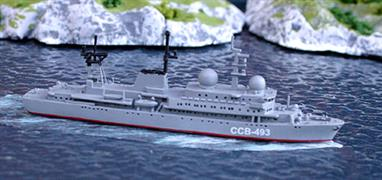 The first purpose-built signals intelligence ships of the cold war.