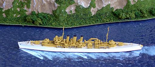 Navis Neptun 1132S HMS Norfolk, in tropical livery, 1938 1/1250