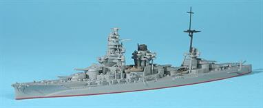 A new model in 2006, so good detailing for this diecast battleship. Members of this battleship class were treated as poor relations by the main Japanese Battlefleet during WW2 because they had not been extensively re-fitted or updated and were not fast enough for the highly mobile war in the Pacific.