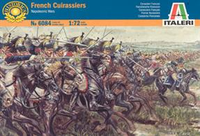 Italeri 1/72 French Cuirassiers Napoleonic Wars 6084Box contains 12 figuresPaints are required to complete the figures (not included)