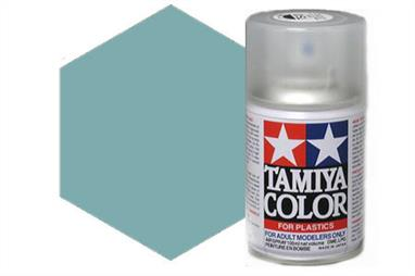 Tamiya AS5 Light Blue Synthetic Lacquer Spray Paint 100ml AS-5Tamiya AS Spray paint, much like the TS Sprays, are meant for plastic models. These spray paints are specially developed for finishing aircraft models. Each color is formulated to provide the authentic tone to 1/32 and 1/48 scale model aircraft. now, the subtle shades can be easily obtained on your models by simple spraying. Each can contains 100ml of synthetic lacquer paint.