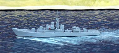 A secondhand 1/1250 scale model in excellent condition, see photograph.Over 60 of these ships were built for Warsaw Pact navies and 4 were built in China.