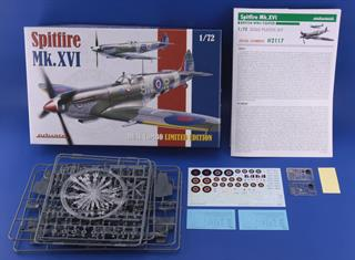 Spitfire Mk.XVI Dual Combo Limited Edition Plastic Kit