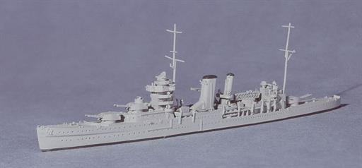 Navis Neptun 1131 HMS York, a British Heavy Cruiser, 1939 1/1250