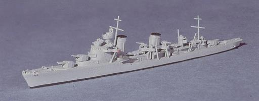 Navis Neptun 1650 Tashkent, a Russian Light Cruiser, 1938 1/1250