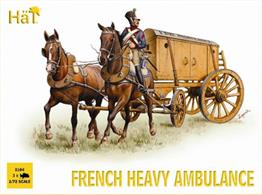 Hat 1/72 French Heavy Ambulance 8104Will build 3 French heavy ambulances