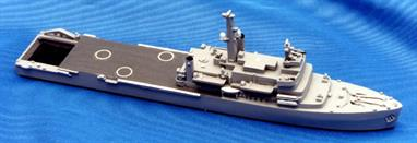 A 1/1250 scale second-hand model of HMS Fearless made in England by Triton R1075P. The model is in very good original condition, see photograph.