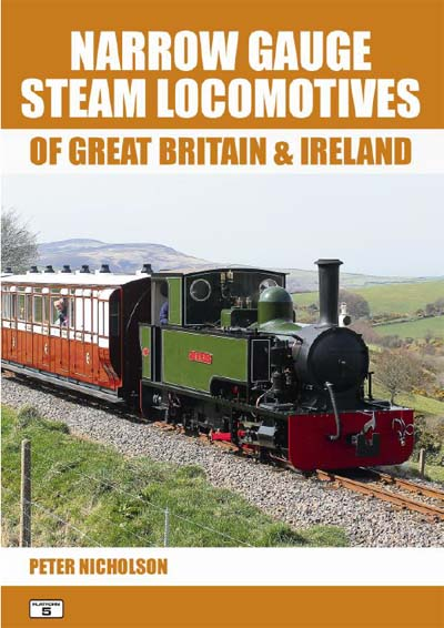 <p>This completely new book from Platform 5 Publishing is the complete guide to all narrow gauge steam locomotives known to exist in Great Britain and Ireland of track gauges 1ft 6in to 4ft 6in. It fills a gap between 'Preserved Locomotives of British Railways' which contains details of standard gauge locomotives, and the Miniature Railways book which predominantly covers circular model engineers and park trains (note, the 15in Romney and Ravenglass lines are in the miniature railways book).</p>