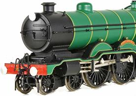 A detailed model of the London Brighton and South Coast Railway 4-4-2 atlantic type locomotives.