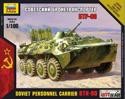 Zvezda 1/100 BTR-80 MBT Art of Tactic Tank kit 7401