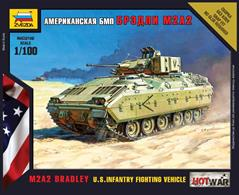 Zvezda 1/100 US Bradley APC Art of Tactic kit 7406