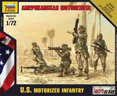 Zvezda 1/72 American Infantry Art of Tactic Figure Set 7407.