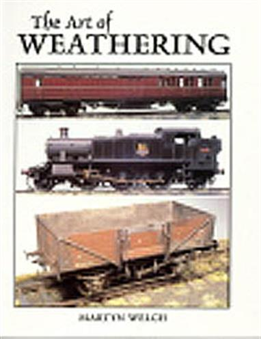 A comprehensive guide to replicating the effects of age, weather, wear and tear on railway rolling stock and buildings. Starting with a discussion of materials and techniques, chapters are included covering the weathering of steam and diesel locomotives, passenger coaches and goods wagons. Practical projects are described in the text with illustrations showing prototype and models being created using the techniques used.126 pages. Soft cover.