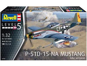 Revell 03838 1/32nd P-51D Mustang Late Version Fighter Kit