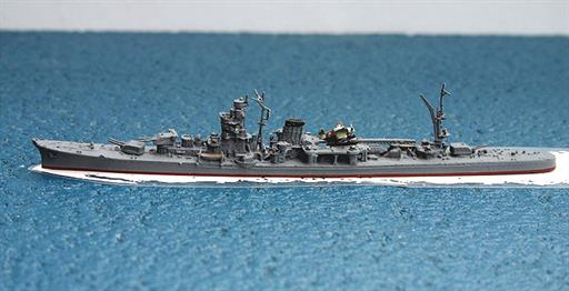 Navis Neptun 1241sh IJN Yahagi Japanese light cruiser design of WW2 1/1250